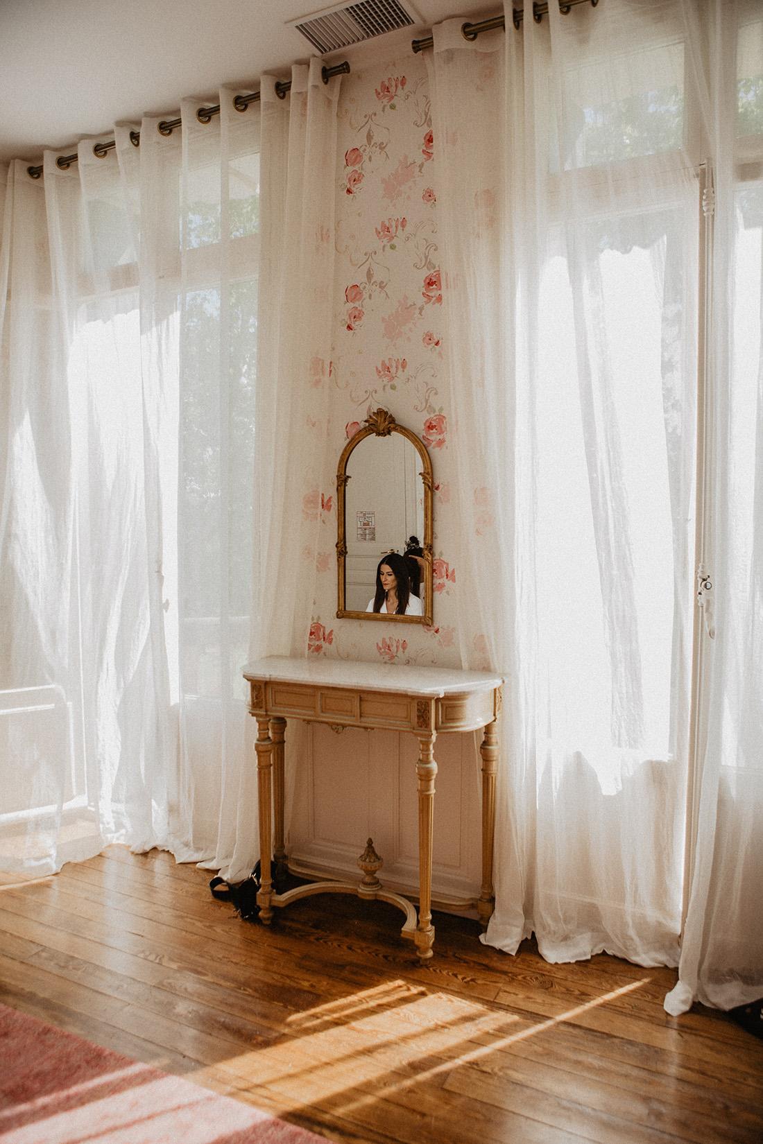 preparations de la mariee au chateau de malmont