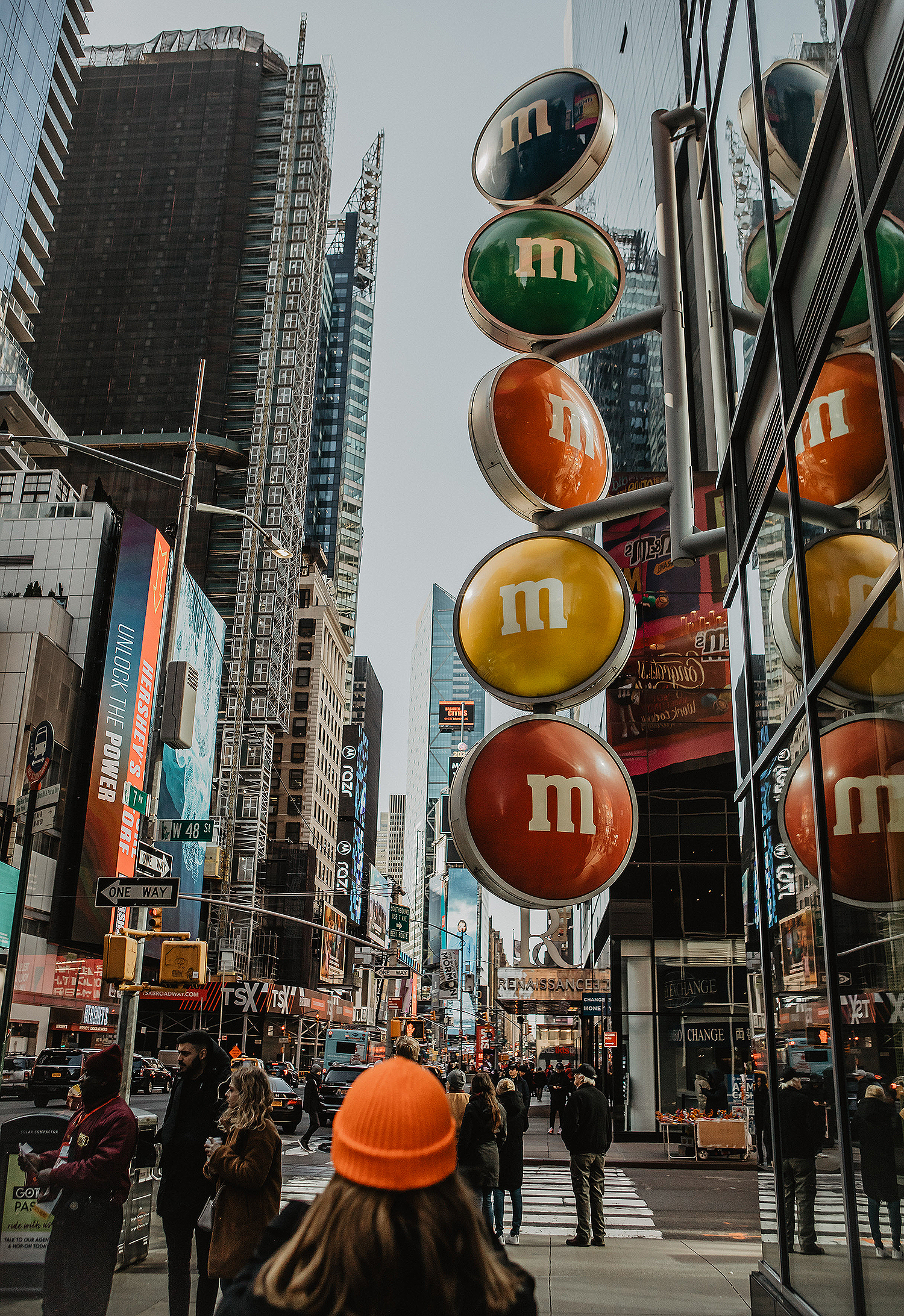 m&m shop at times square new york